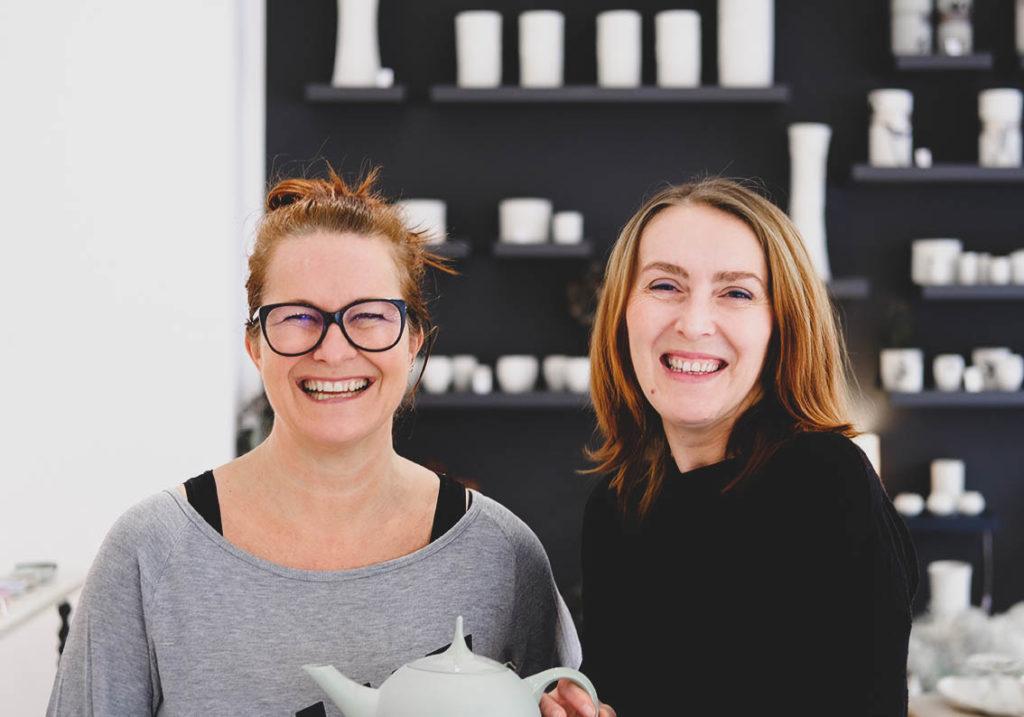Gründerin der Porzellanmanufakur Feinedinge Sandra Haischberger